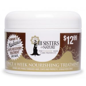 3 sisters of nature once a week nourishingtreatment 8 oz