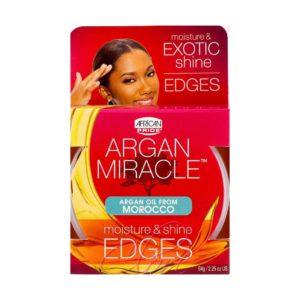 African Pride Argan Miracle Edges 2.25oz