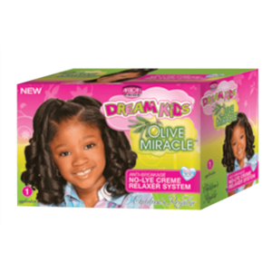 African Pride Dream Kids Olive Relaxer Kit Regular