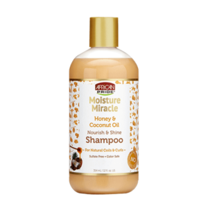 African Pride Moisture Miracle Shampoo12oz