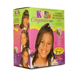 Africas Best Kids Organics Relaxer Kit Value Pack Super