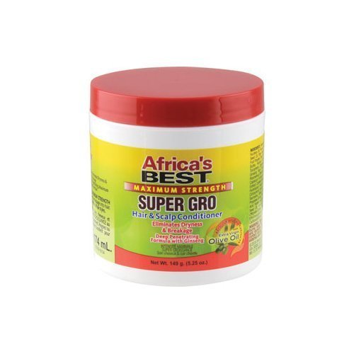 Africas Best Max Super Gro Hair Scalp Conditioner NEW