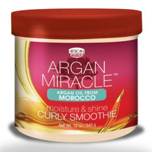 african pride argan miracle curly smoothie 12oz