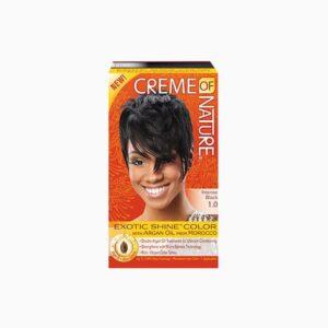 Creme Of Nature Hair Color 1.0 Intense Black