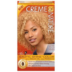 Creme Of Nature Hair Color 10.01 Ginger Blond
