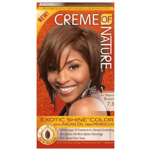Creme Of Nature Hair Color 7.3 Medium Warm Brown