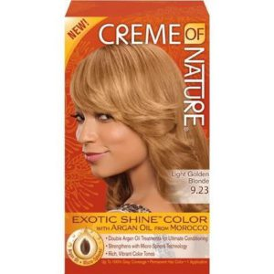 Creme Of Nature Hair Color 9.23 Gold Blond