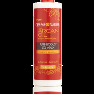 Creme of Nature Argan Licious Co Wash 12oz
