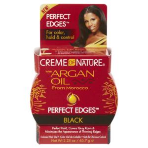 Creme of Nature Argan Perfect Edges Black 2.25oz