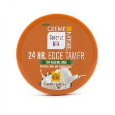 Creme of Nature Coconut Milk 24 HR. Edge Tamer 2.25oz