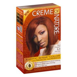 Creme of Nature Gel Hair Color 6.4 Red Copper