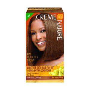 Creme of Nature Liquid Hair Color C20 Light Golden Brown