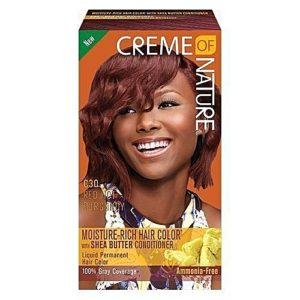 Creme of Nature Liquid Hair Color C30 Red Hot Burgundy