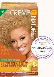 Creme of Nature Liquid Hair Color C43 Lightest Blond