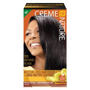 Creme of Nature Liquid Hair Color No.C11 Natural Black