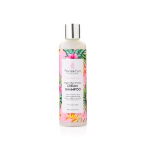 Organic Rose Honey Cream Shampoo Flora Curl
