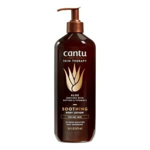 Cantu Skin therapy soothing Aloe Vera Body Lotion 16 oz