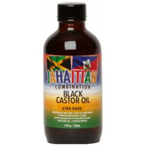 Jahaitian Black Castor Oil Xtra Dark 4oz